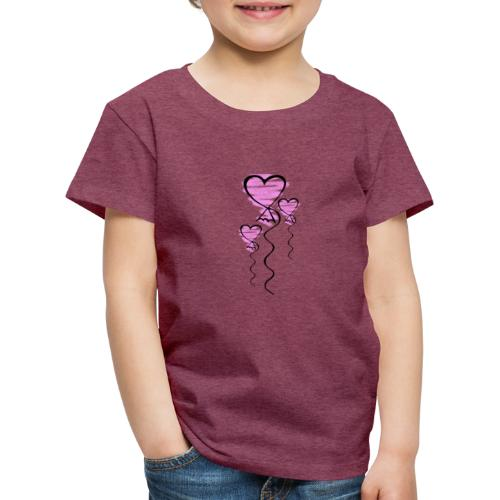 Herzballons - Kinder Premium T-Shirt