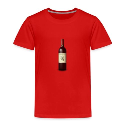 Weinflasche - Kinder Premium T-Shirt