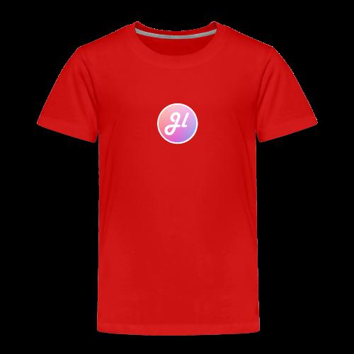 Just Lewis Circle Logo - Kids' Premium T-Shirt