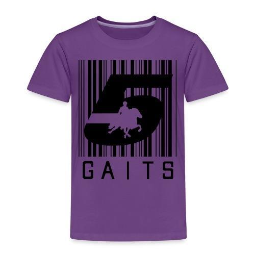 5gaitsBarcode 1 - Kids' Premium T-Shirt