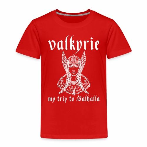 Valkyrie to Valhalla - Camiseta premium niño