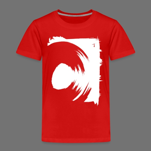 spin (valkoinen) - Lasten premium t-paita