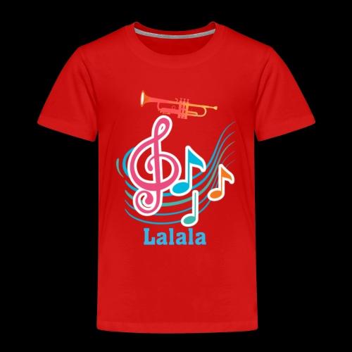 Lalala - Kinder Premium T-Shirt