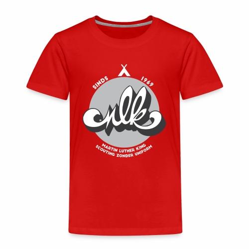 MLK scouting 50 jaar - wit - Kinderen Premium T-shirt