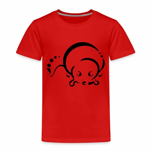 Otter, Tribal Design - Kids' Premium T-Shirt