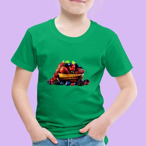 frutti di bosco - Maglietta Premium per bambini