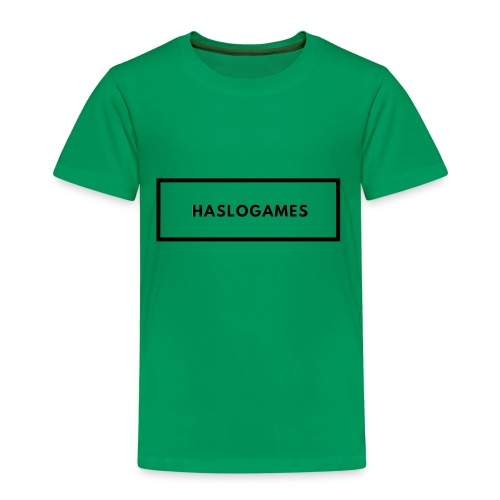 HasloGames White/Black edition! - Kinderen Premium T-shirt
