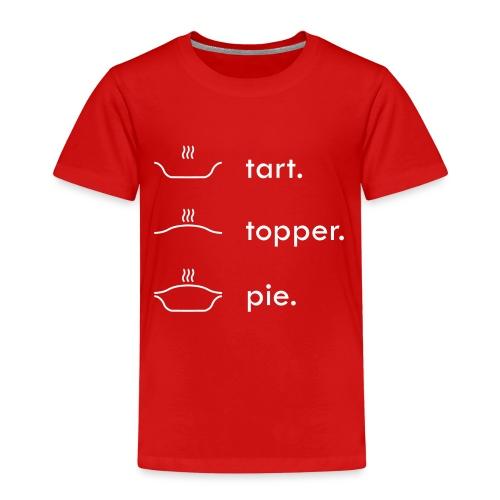 Tart Topper Pie - Kids' Premium T-Shirt