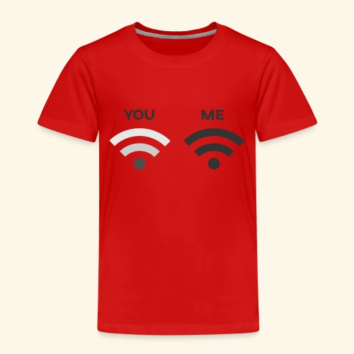 You vs. Me, Bad Wifi - Kids' Premium T-Shirt