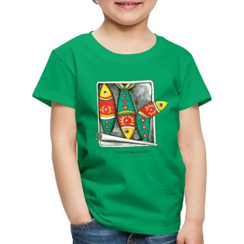 Les sardines - T-shirt Premium Enfant