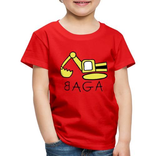 Bagger (BAGA) - Kinder Premium T-Shirt