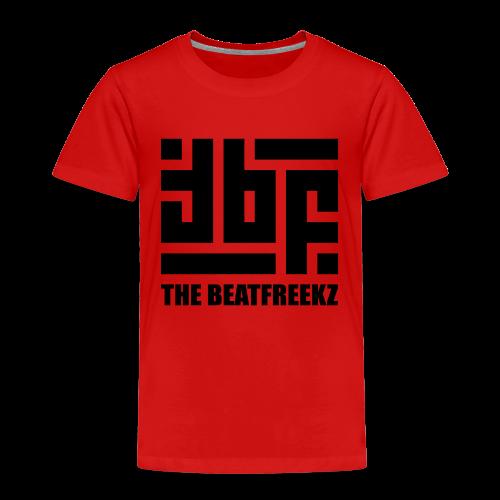 the beatfreekz logo 3 black - Kids' Premium T-Shirt