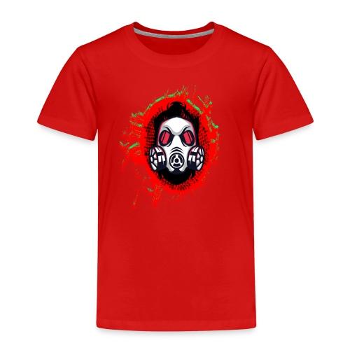 Urbaner Comic Held - Lustiger Fictional Kopf - Kinder Premium T-Shirt
