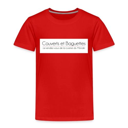 Couverts et Baguettes - T-shirt Premium Enfant