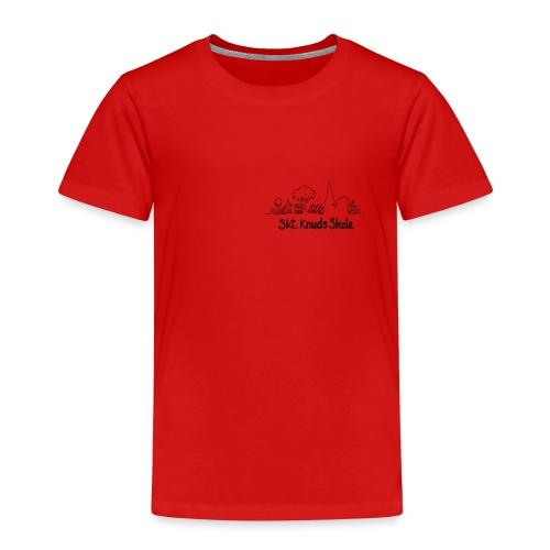 logo fra Skt Knuds Skole - Børne premium T-shirt