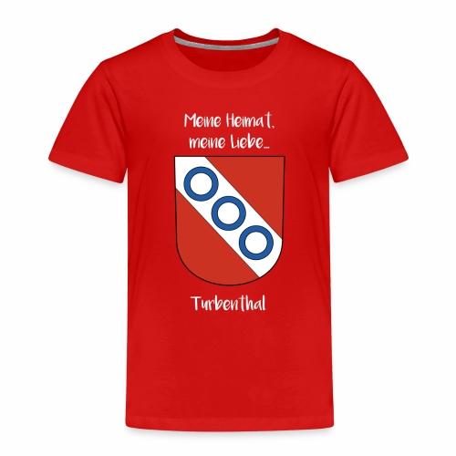 Meine Heimat, meine Liebe Turbenthal - Kinder Premium T-Shirt