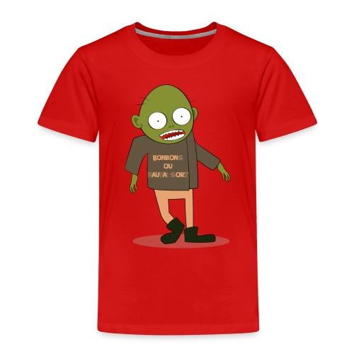 Zombie gourmand - T-shirt Premium Enfant