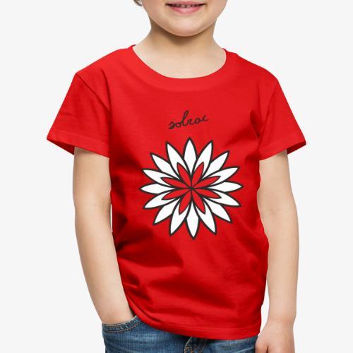 SOLRAC Central Red - Camiseta premium niño