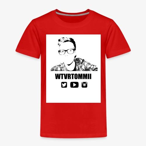 wtvrtommii logo - Kids' Premium T-Shirt