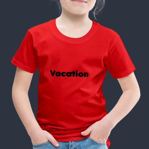 Vacation-MariusLeRoy - Premium-T-shirt barn