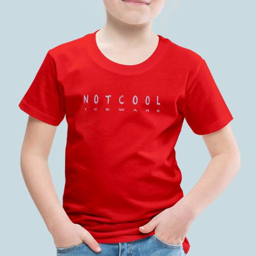NOTCOOL ICEWARE - Kinderen Premium T-shirt