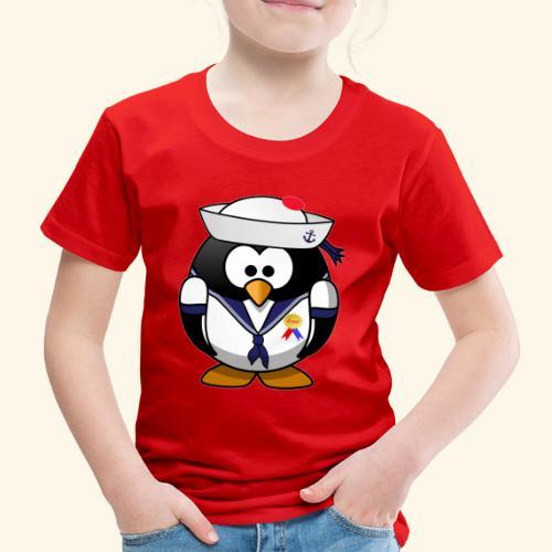 Pingouin Marin d'Amour - T-shirt Premium Enfant