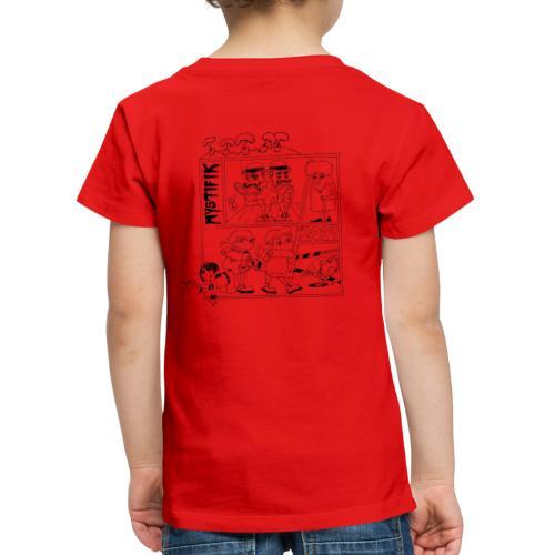 Årets t shirt med korte ærmer 2019 - Børne premium T-shirt