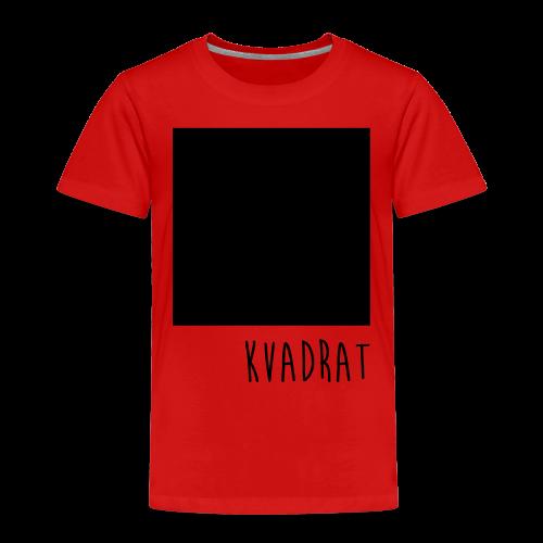Kvadrat Ekologisk T-shirt - Premium-T-shirt barn