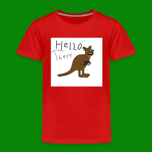 saltyfaggot hello - Premium-T-shirt barn