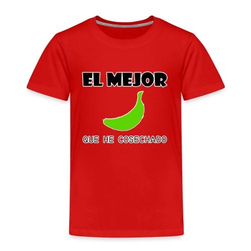 plátano verde - Camiseta premium niño