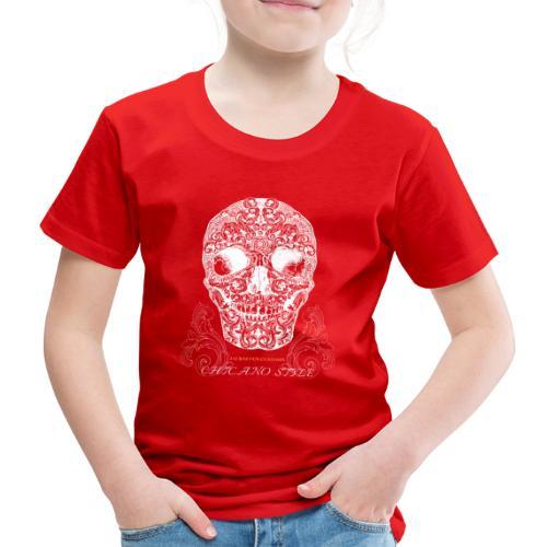 Chicano Style , Skull Mexiko Totenkopf Bobber - Kinder Premium T-Shirt