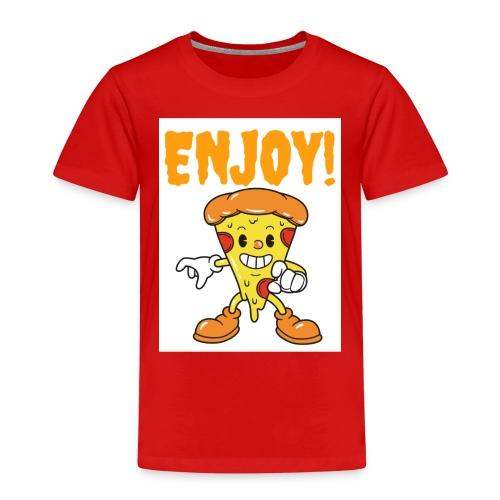 Ich liebe Pizza - Kinder Premium T-Shirt