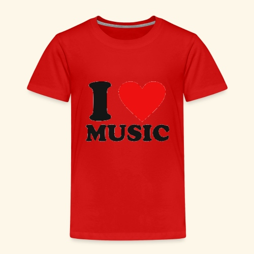 i love music - Kids' Premium T-Shirt