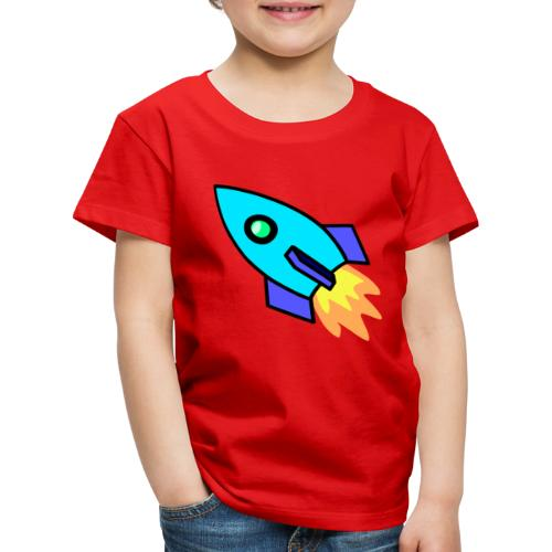 Blue rocket - Kids' Premium T-Shirt