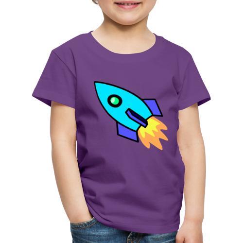 Blue rocket - Kids' Premium T-Shirt
