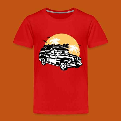 Chevy Cadilac Woodie / Oldtimer Kombi 01_3c - Kinder Premium T-Shirt