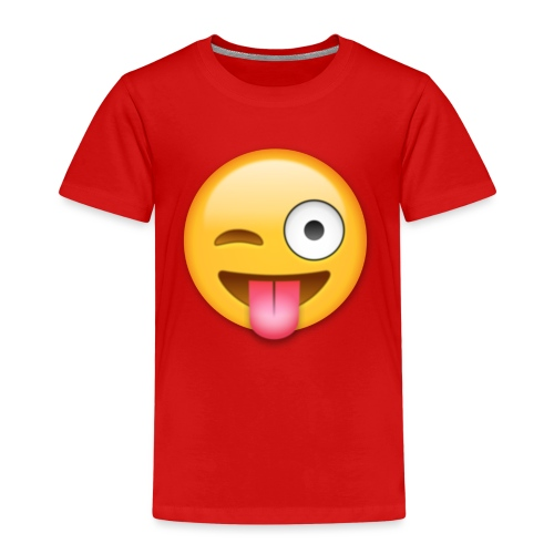 Winking Face - Kinder Premium T-Shirt