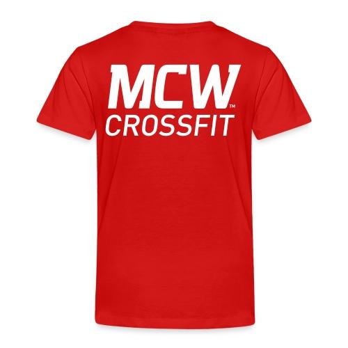 MCW Sportklubb - Premium-T-shirt barn