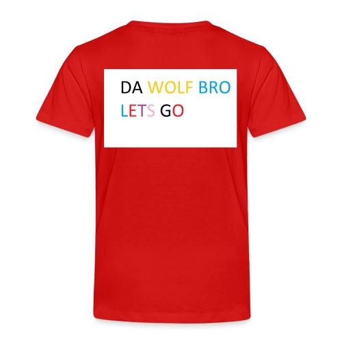 DA WOLFS - Kids' Premium T-Shirt