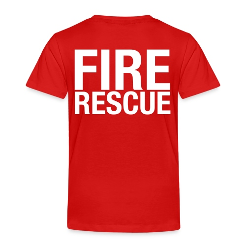 Fire and Rescue - Kids' Premium T-Shirt