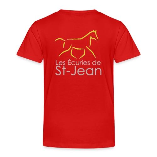 Ecuries de St Jean - T-shirt Premium Enfant