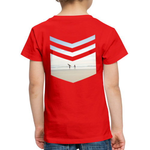 Surf Beach Triangle - Kinder Premium T-Shirt