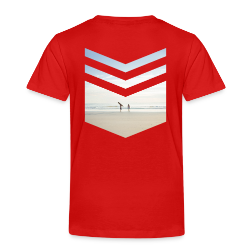 Surfing Beach - Kinder Premium T-Shirt