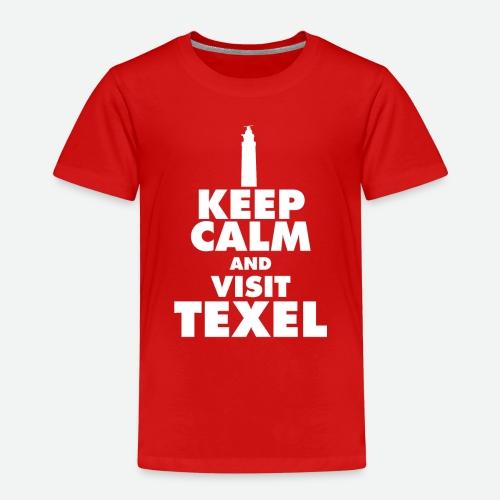 Keep calm and visit Texel - Kinder Premium T-Shirt
