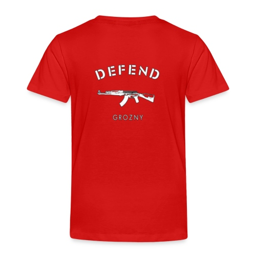 Defend Grozny - Kinder Premium T-Shirt