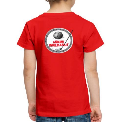 Logo Askim Innebandy - Premium T-skjorte for barn