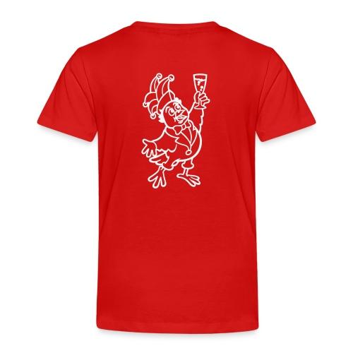 glasspatz vektor kleiner einfarbig - Kinder Premium T-Shirt
