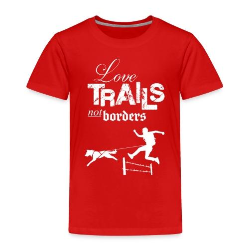 Love Trails – Hoodie - Kinder Premium T-Shirt