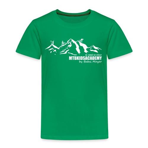 mtb kids academy4 white - Kinder Premium T-Shirt