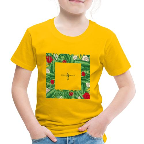 Urban Jungle | Tropical Square - Kinder Premium T-Shirt